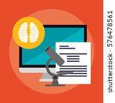e learning education design | Shutterstock .eps vector #576478561