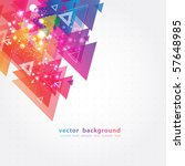 abstract colorful background... | Shutterstock .eps vector #57648985