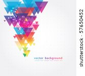 abstract colorful background... | Shutterstock .eps vector #57650452