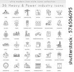 heavy and power industry ultra ...   Shutterstock . vector #576506095