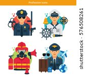 vector characters collection... | Shutterstock .eps vector #576508261