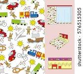 color full pattern for boys on...   Shutterstock .eps vector #576515305