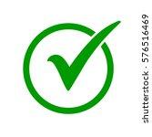 Green Check Mark Icon In A...
