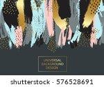creative universal card ... | Shutterstock .eps vector #576528691