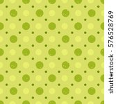 seamless pattern with green... | Shutterstock . vector #576528769