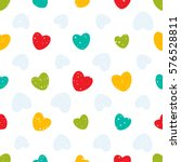 seamless pattern with colorful... | Shutterstock . vector #576528811