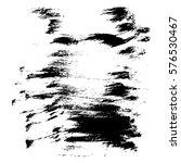 vector monochrome background... | Shutterstock .eps vector #576530467