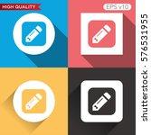 pencil or edit icon. button...