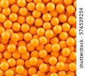 orange balls background. | Shutterstock .eps vector #576539254