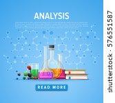 modern tool set of chemistry....   Shutterstock .eps vector #576551587