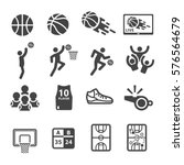 basketball icon | Shutterstock .eps vector #576564679