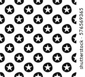 seamless pattern with stars | Shutterstock .eps vector #576569365
