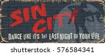 Vintage tin city sign. Underground poster. Old city mark. Welcome to. Retro souvenirs or postcard templates on rust background. Dance music poster.