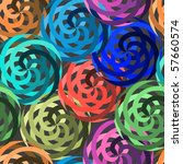 vivid colorful repeating... | Shutterstock . vector #57660574