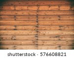 old wooden planks background | Shutterstock . vector #576608821