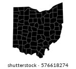map of ohio   Shutterstock .eps vector #576618274