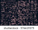 mega huge collection of vector... | Shutterstock .eps vector #576619375