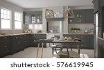 scandinavian classic gray... | Shutterstock . vector #576619945