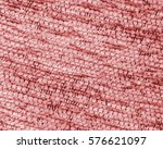 red textile texture. useful for ... | Shutterstock . vector #576621097
