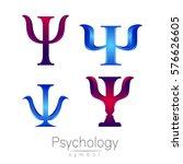 modern logotype sign set of... | Shutterstock .eps vector #576626605