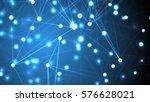 futuristic technology abstract... | Shutterstock . vector #576628021
