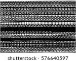 vector hand drawn ink african... | Shutterstock .eps vector #576640597