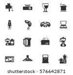 kitchen vector icons for user... | Shutterstock .eps vector #576642871