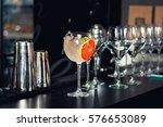 closeup of  alcoholic drink