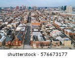 aerial view of the federal hill ... | Shutterstock . vector #576673177