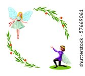 prince and princess   Shutterstock . vector #57669061