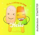 bright vector illustration of... | Shutterstock .eps vector #576699709