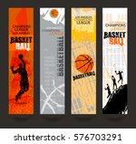 set of banners for basketball.... | Shutterstock .eps vector #576703291