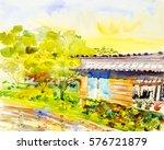 Watercolor Painting Original...
