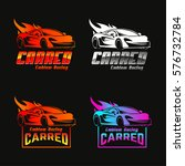 car logo with gradient color   Shutterstock .eps vector #576732784