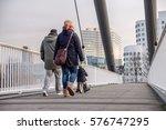 duesseldorf  germany   ... | Shutterstock . vector #576747295
