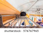 luggage racks on trains | Shutterstock . vector #576767965