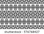 seamless melting black and... | Shutterstock . vector #576768427