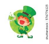 vector illustration of st.... | Shutterstock .eps vector #576776125