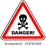 danger sign | Shutterstock .eps vector #576781585