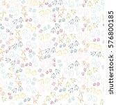 animal vector seamless pattern. ...   Shutterstock .eps vector #576800185