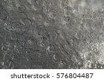 macro ice crystals under river...   Shutterstock . vector #576804487