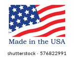 made in the usa symbol | Shutterstock .eps vector #576822991