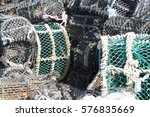 Colourful Lobster Pots Stacked...