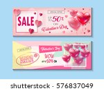 sale discount banner for... | Shutterstock .eps vector #576837049