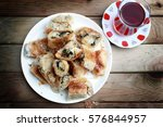 kol boregi  arm borek  is a... | Shutterstock . vector #576844957