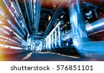 industrial zone  steel... | Shutterstock . vector #576851101
