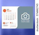 calendar template for march...   Shutterstock .eps vector #576882745