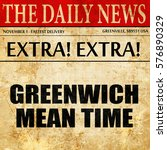 Greenwich Mean Time  Article...