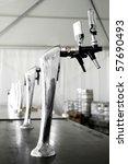 beer pump in a traditional... | Shutterstock . vector #57690493