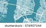 detailed vector map of new york ...   Shutterstock .eps vector #576907144